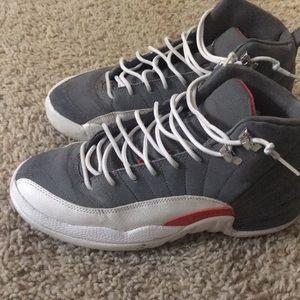 Jordan 12 cool Grey size 6.5y